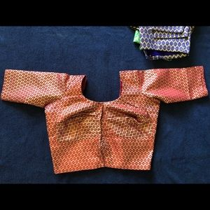 Readymade Saree Blouse, Katan Silk. Brand new